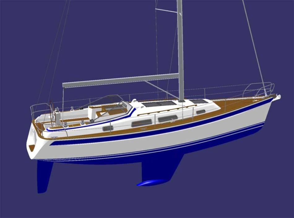 Hallberg-Rassy introduces Freys designed 372 yacht. Monday, 19 May 2008